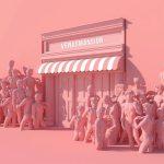 3D-Rendered Scenes by Lee Sol