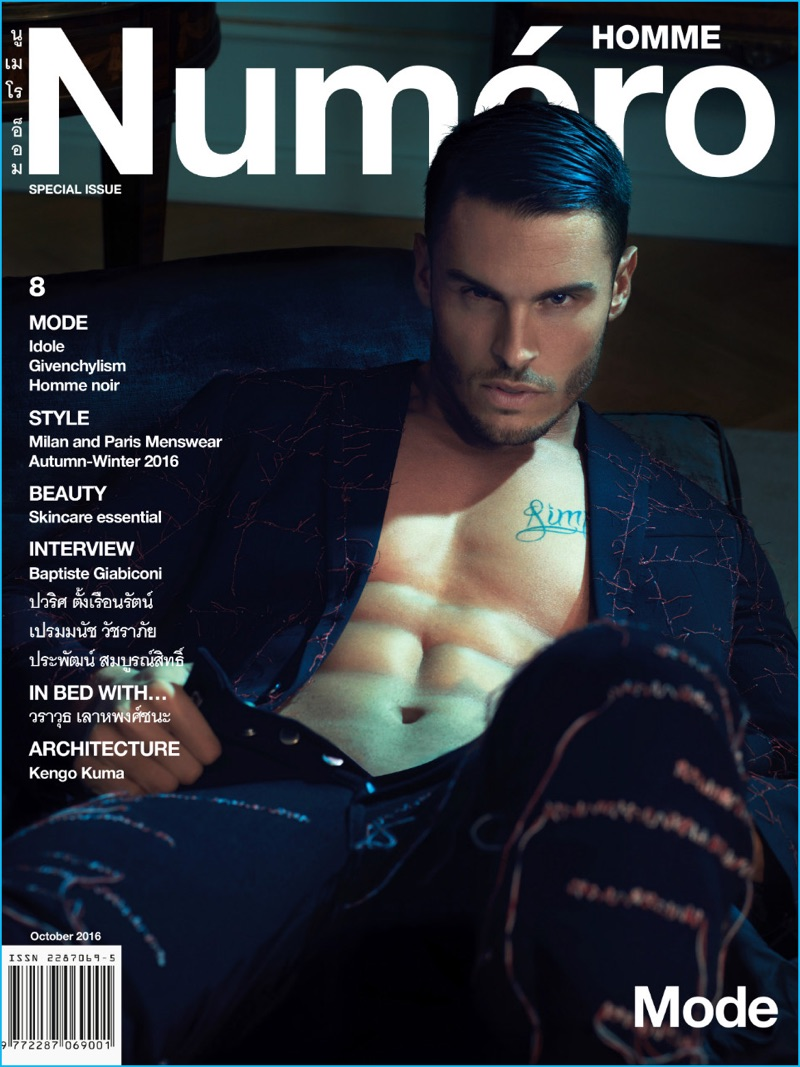 baptiste-giabiconi-2016-numero-homme-thailand-cover