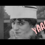 Charlie Chaplin in Drag (Video)