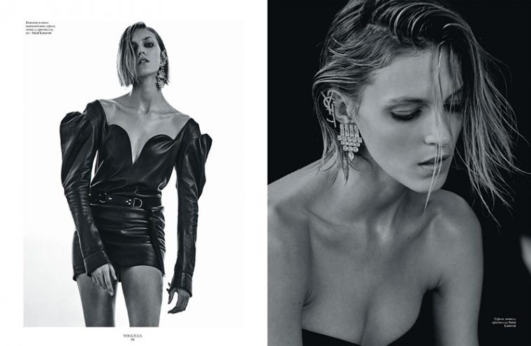 Anja Rubik by Chris Colls (2)