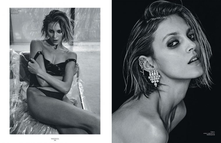 Anja Rubik by Chris Colls (6)