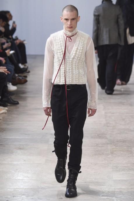 Ann Demeulemeester Menswear FW 2017 Paris20