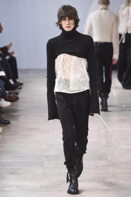 Ann Demeulemeester Menswear FW 2017 Paris27