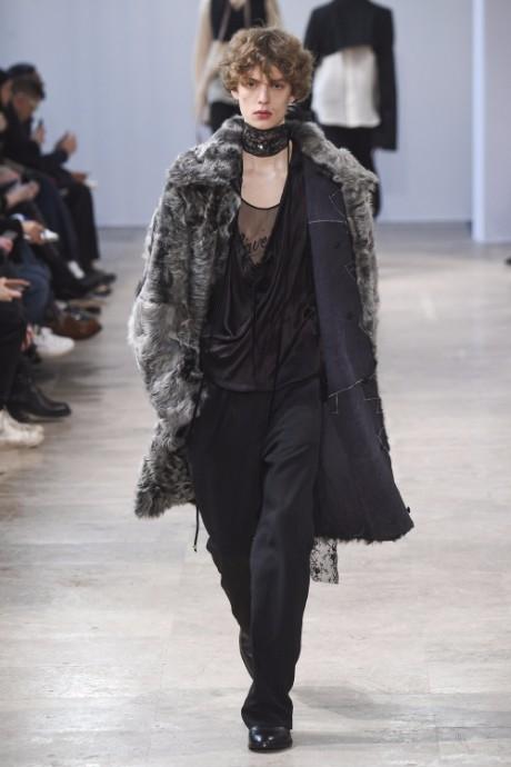 Ann Demeulemeester Menswear FW 2017 Paris31