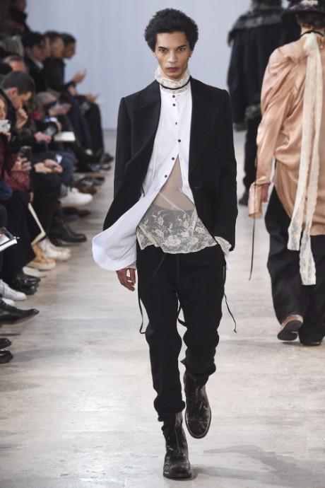 Ann Demeulemeester Menswear FW 2017 Paris36