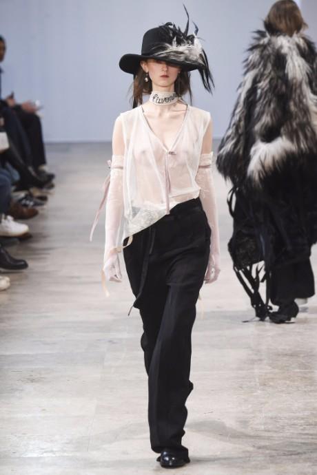 Ann Demeulemeester Menswear FW 2017 Paris43