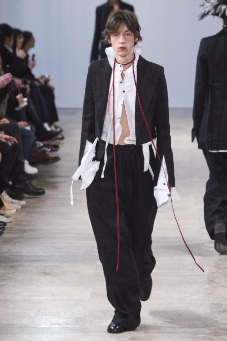 Ann Demeulemeester Menswear FW 2017 Paris6