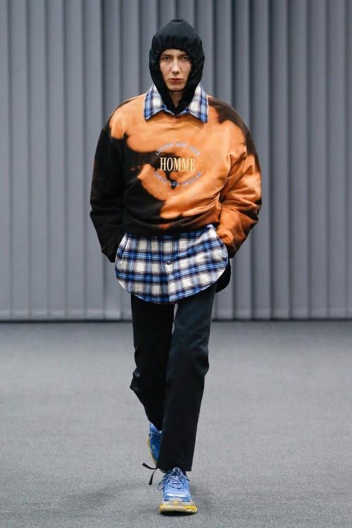 Balenciaga Menswear FW 2017 Paris23