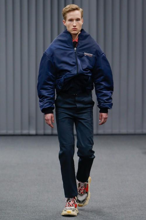 Balenciaga Menswear FW 2017 Paris34