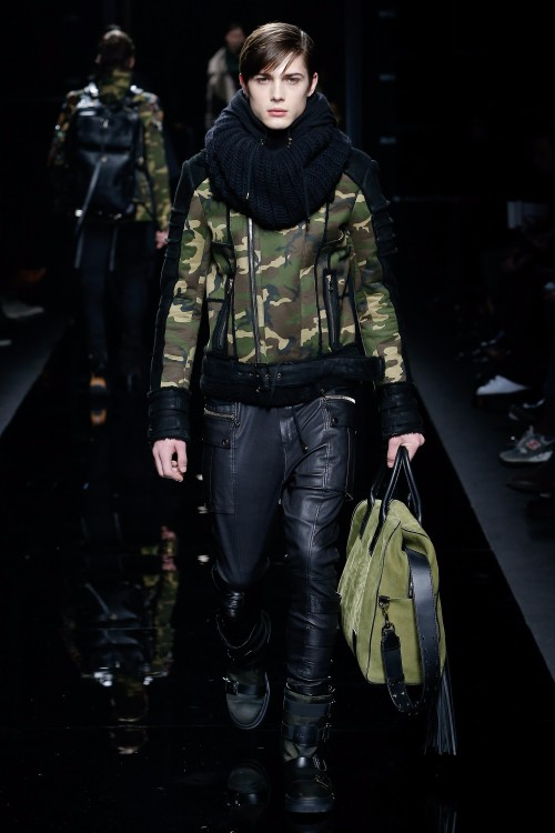 Balmain Menswear FW 2017 Paris12
