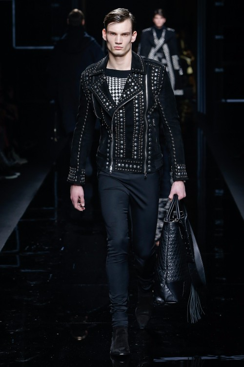 Balmain Menswear FW 2017 Paris40