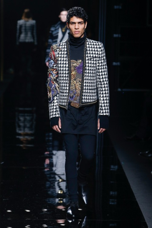 Balmain Menswear FW 2017 Paris44
