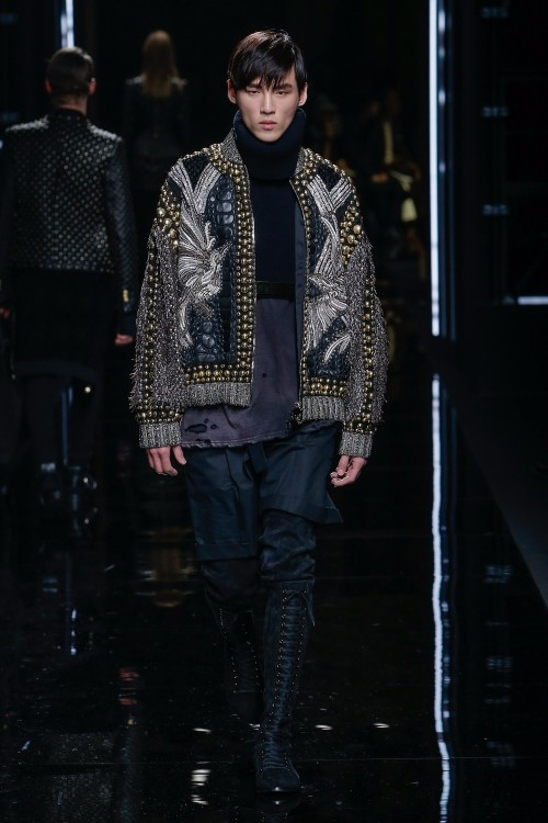 Balmain Menswear FW 2017 Paris60