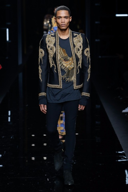 Balmain Menswear FW 2017 Paris68