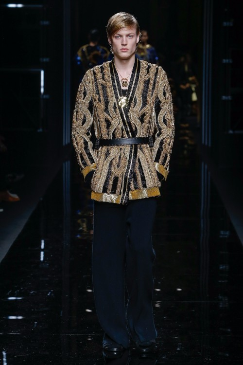 Balmain Menswear FW 2017 Paris79