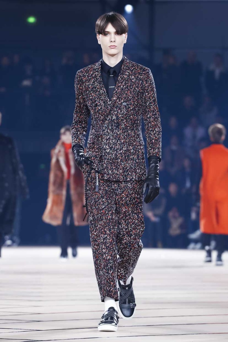 Dior Homme Fashion Show, Menswear Collection Fall Winter 2017 in Paris