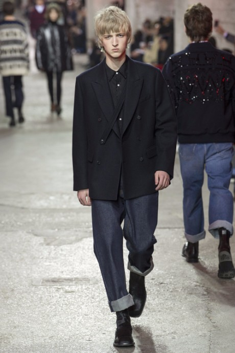 Dries Van Noten Menswear FW 2017 Paris30