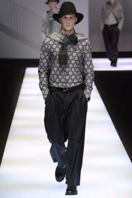 Emporio Armani Menswear FW 2017 Milan3