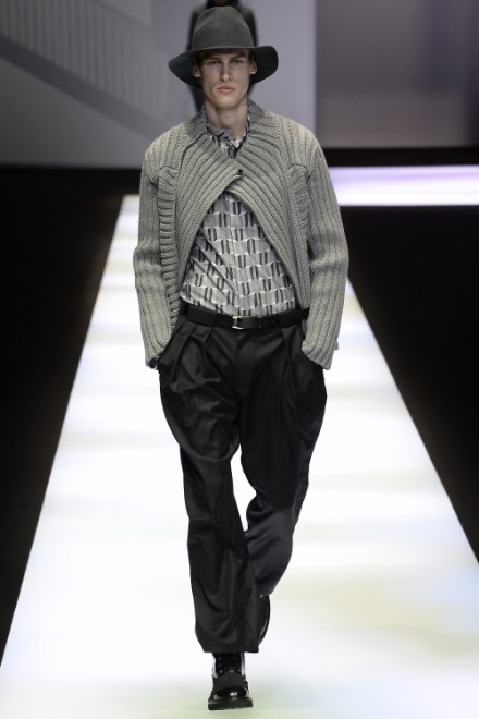 Emporio Armani Menswear FW 2017 Milan5