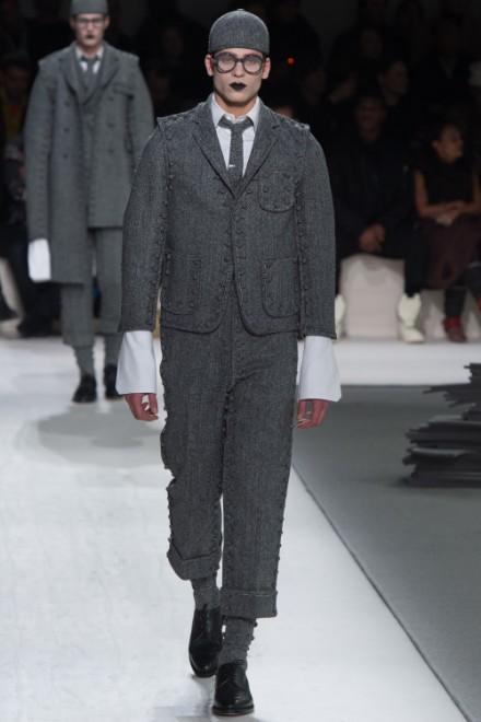 Thom Browne Menswear FW 2017 Paris (34)