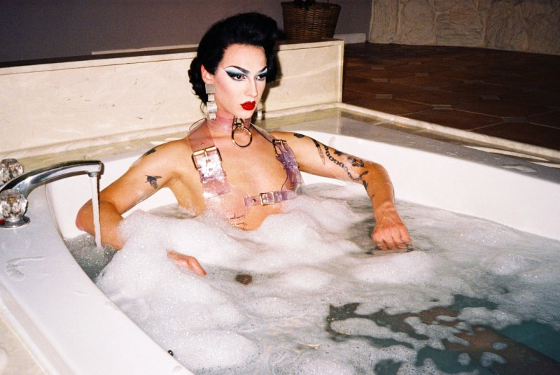 Violet Chachki for Latex Lucifer4