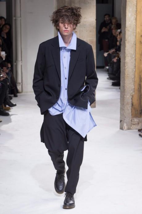 Yohji Yamamoto Menswear FW 2017 Paris10