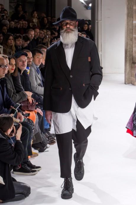 Yohji Yamamoto Menswear FW 2017 Paris22