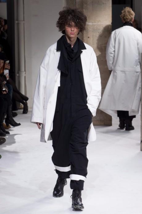 Yohji Yamamoto Menswear FW 2017 Paris28
