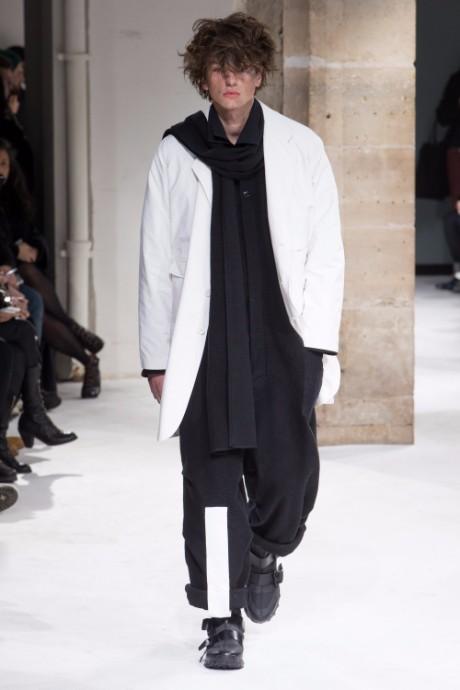 Yohji Yamamoto Menswear FW 2017 Paris30