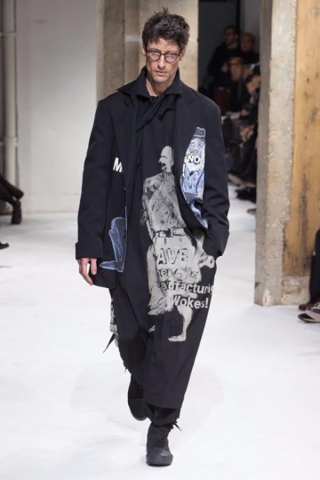 Yohji Yamamoto Menswear FW 2017 Paris31