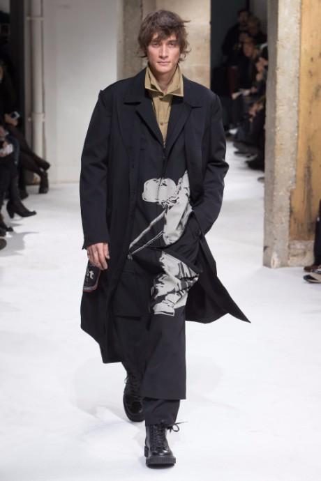 Yohji Yamamoto Menswear FW 2017 Paris32