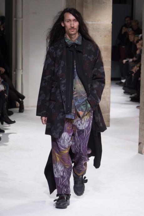 Yohji Yamamoto Menswear FW 2017 Paris33