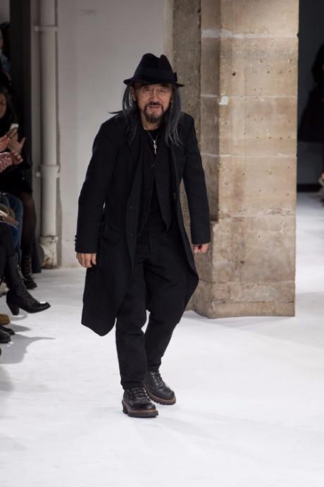 Yohji Yamamoto Menswear FW 2017 Paris46