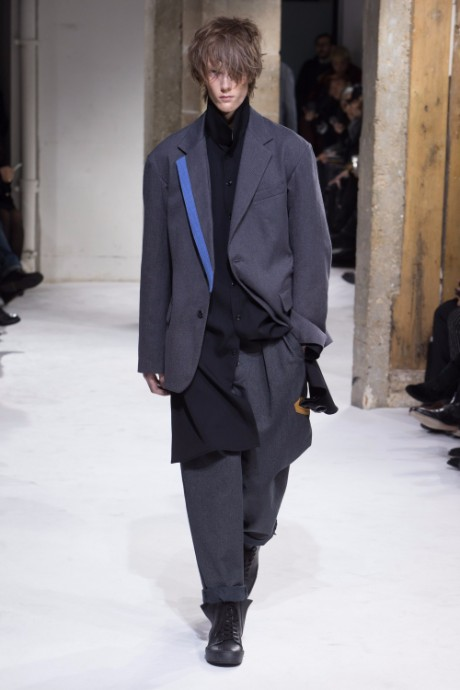 Yohji Yamamoto Menswear FW 2017 Paris5