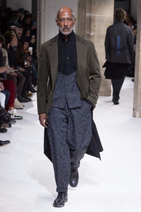 Yohji Yamamoto Menswear FW 2017 Paris6