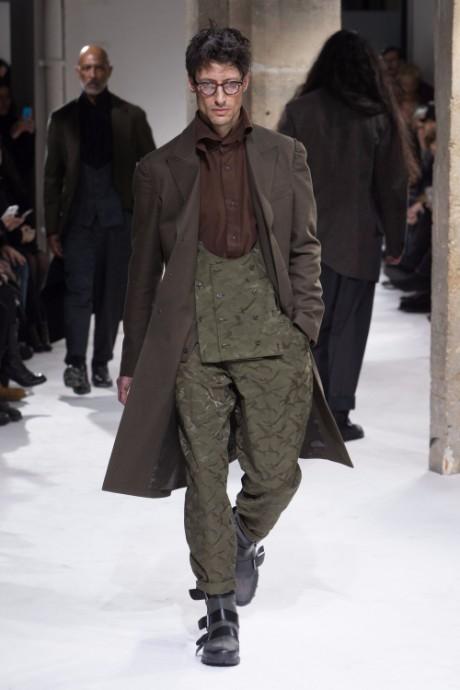 Yohji Yamamoto Menswear FW 2017 Paris8