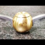 Golden Snitch Fidget Spinner (Video)