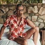 Jeff Goldblum by Nino Muñoz