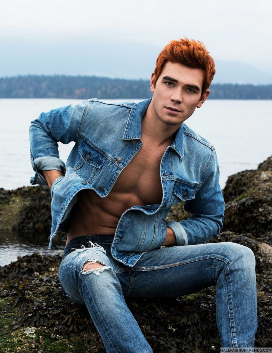 KJ Apa by Justin Campbell