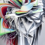 Paper Sculptures by Crystal Wagner