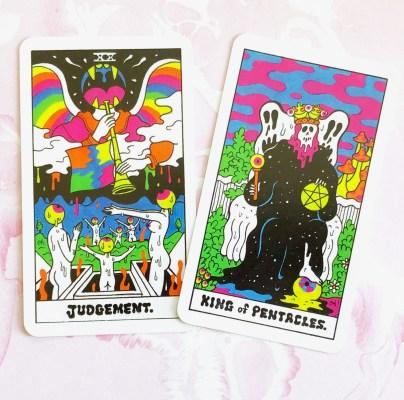 colorful tarots - Tarot Reading for Beginners