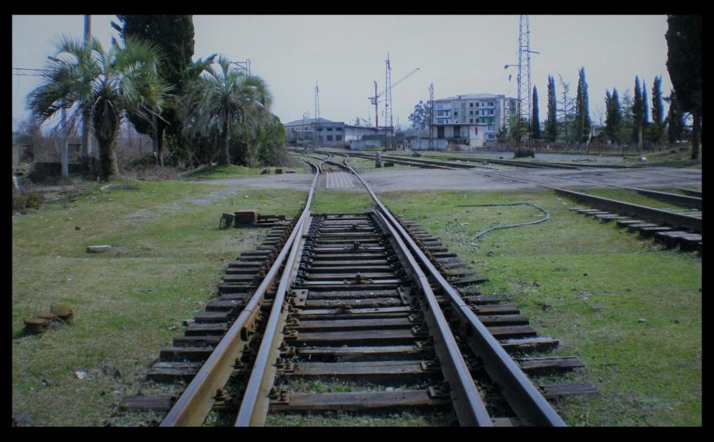 Abkhazian Railway: The Abandoned Train station