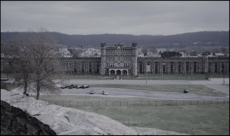 The West Virginia Penitentiary in Moundsville