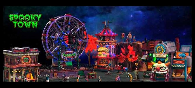 New Lemax Spooky Town Collection for 2021