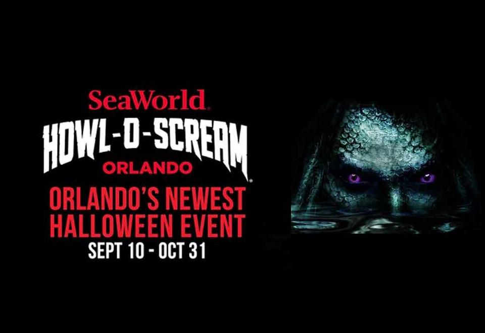 Howl-O-Scream Event Arrives this September at SeaWorld Orlando