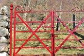 Killilan graveyard gate