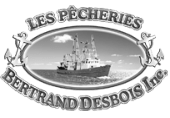 Logo Les Pêcheries Bertrand Desbois | Gravi-T Communication