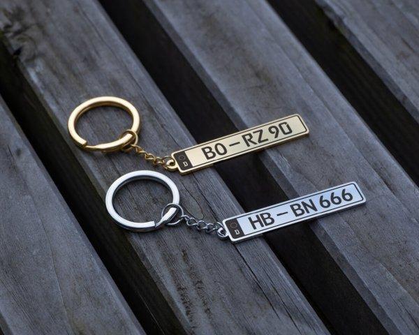 Kennzeichen Schlüsselanhänger Graviando