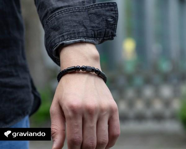 Lederarmband mit Gravur Graviando