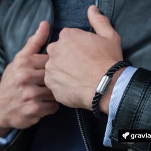 Armband mit Gravur – Segeltau Graviando